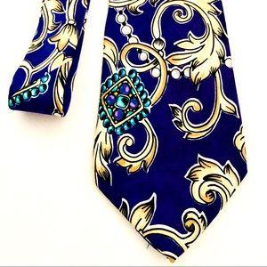 💜HP💜100% Silk*Unisex*Absolutely Stunner*Necktie